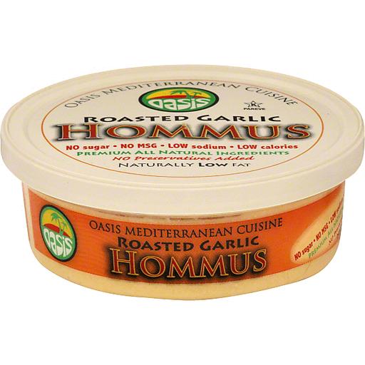 Oasis Hommus, Roasted Garlic