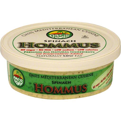 Oasis Hommus, Spinach