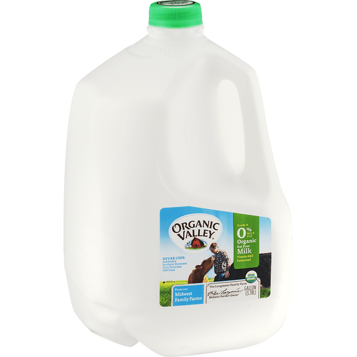 Organic Valley Organic Fat Free Milk
