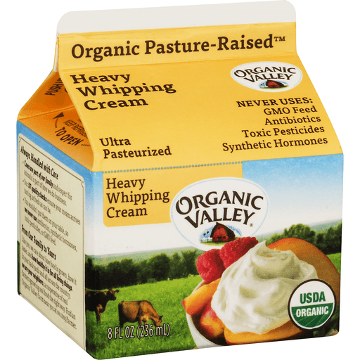 Organic Valley Whipping Cream, Heavy