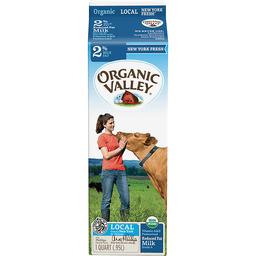 Organic Valley 2 Reduced Fat Milk 1 Qt Carton Foodtown Of Hempstead