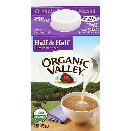Organic Valley Ultra Pasturized Half & Half