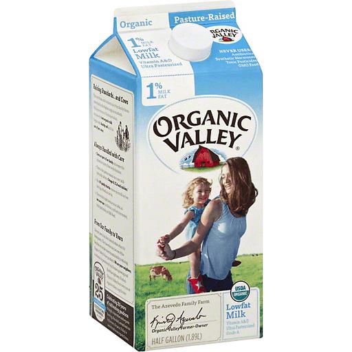 Organic Valley 1 Fat Milk Brookhaven Marketplace