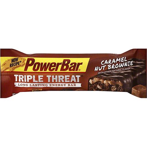 PowerBar Energy Bar, Triple Threat, Caramel Nut Brownie
