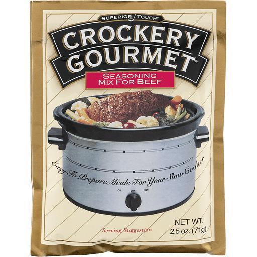 Crockery Gourmet Seasoning Mix, for Beef