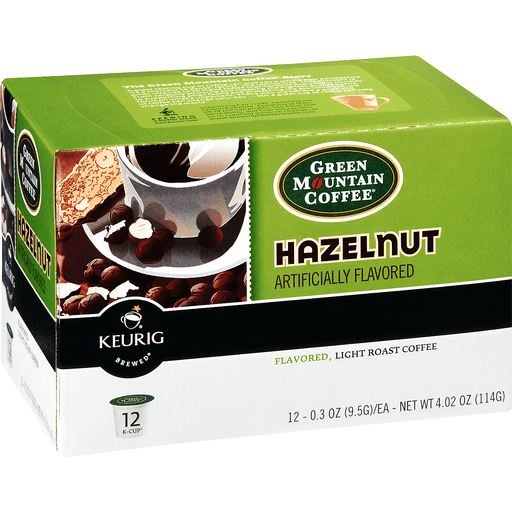 Green Mountain Keurig Hot Coffee, Hazelnut, K-Cup Pods