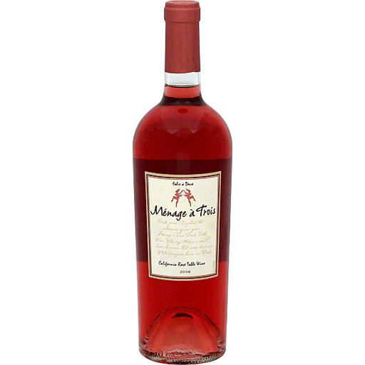 Menage A Trois Menage a Trois Red Wine, California, 2007
