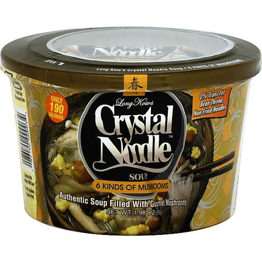 Long Kow Foods Crystal Noodles - 6 Mushroom