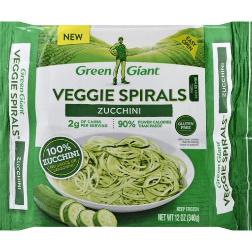 Green Giant Veggie Spirals Zucchini Squash Market Basket
