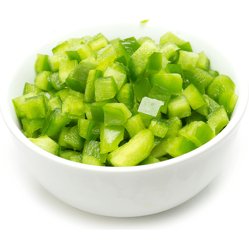 Diced Green Peppers