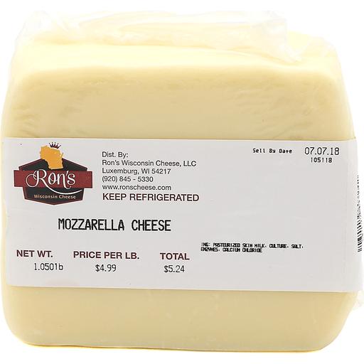 Ron's Mozzarella Cheese