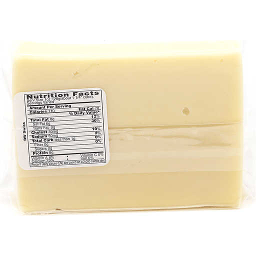 Crystal Farms Swiss Cheese