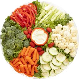 Enjoyable Vegetable Tray Med Serves 30 Global Beutiful Home Inspiration Aditmahrainfo