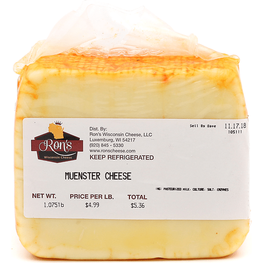 Ron's Muenster Cheese