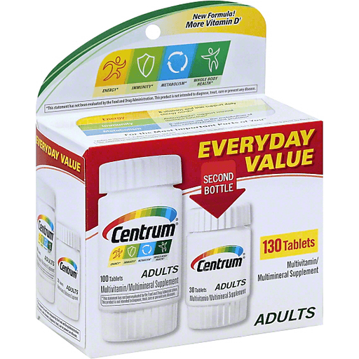 Centrum Multivitamin Multimineral Adults Tablets Adult Multivitamins Reasor S