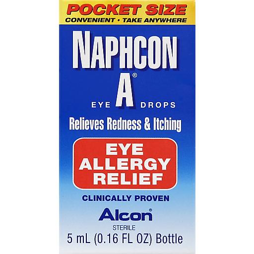 Alcon Naphcon-A Eye Allergy Drops