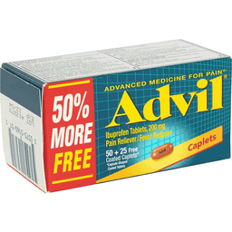 Advil Pain RelieverFever Reducer 200 mg Coated Caplets Bonus