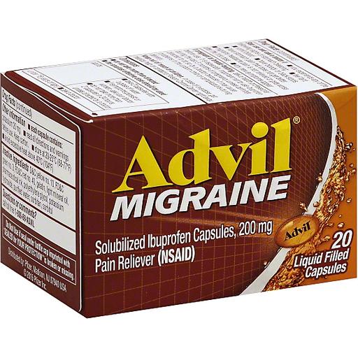 Advil Migraine Solubilized Ibuprofen
