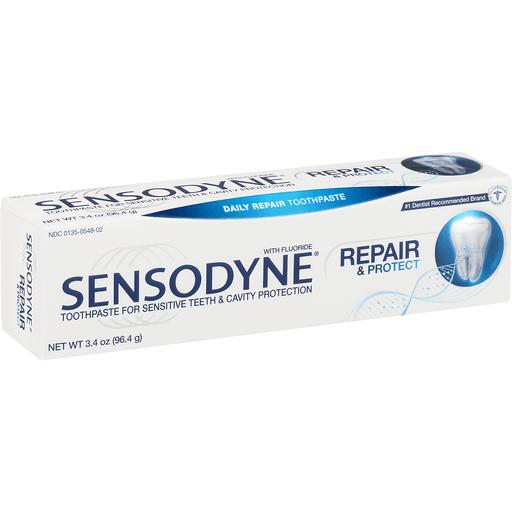 Sensodyne ProNamel Toothpaste, Daily Repair, with Fluoride, Repair & Protect