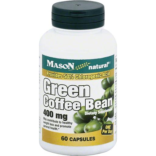Mason Natural Green Coffee Bean 400 Mg Capsules Shop Reasor S