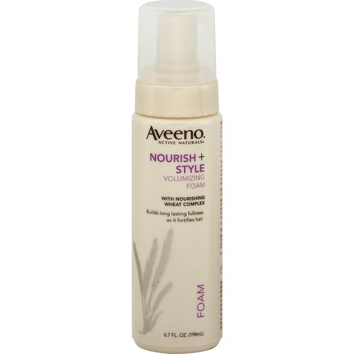 Aveeno Active Naturals Volumizing Foam Nourish Style Health Personal Care Superlo Foods