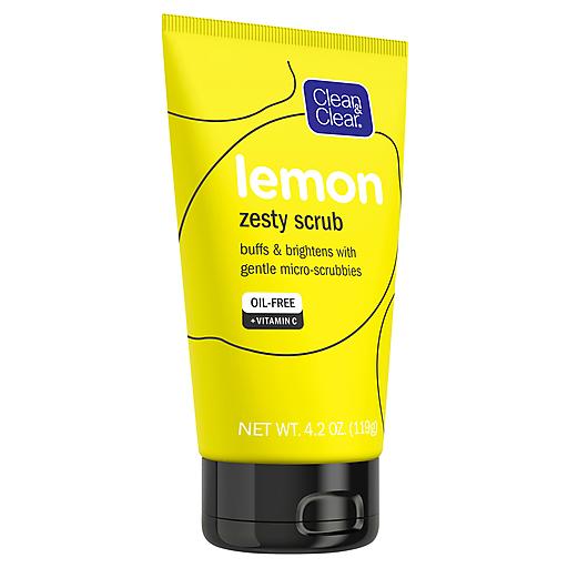Clean And Clear Lemon Zest Scrub