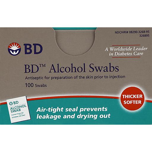 B - D Alcohol Swabs