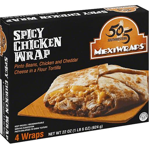 505 Southwestern MexiWraps Spicy Chicken Wrap