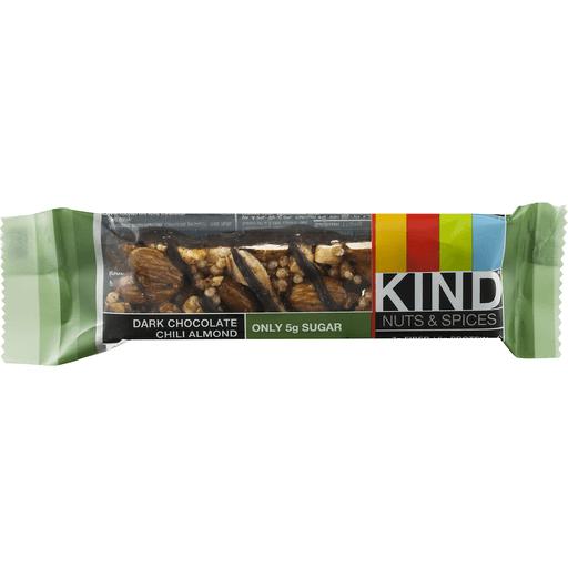 Kind Nuts & Spices, Dark Chocolate Chili Almond