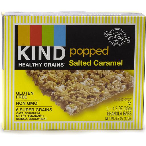 Kind Granola Bars, Popped, Salted Caramel