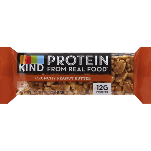 Kind Bar, Crunchy Peanut Butter