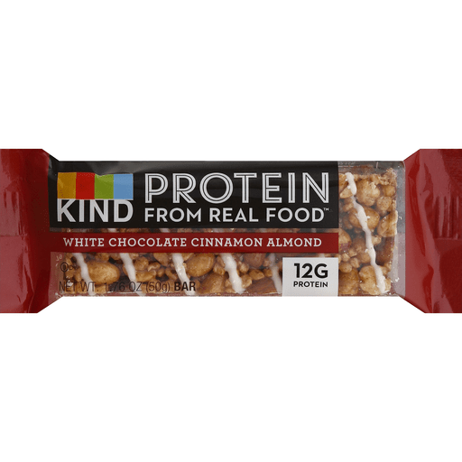 Kind Protein Bar, White Chocolate Cinnamon Almond
