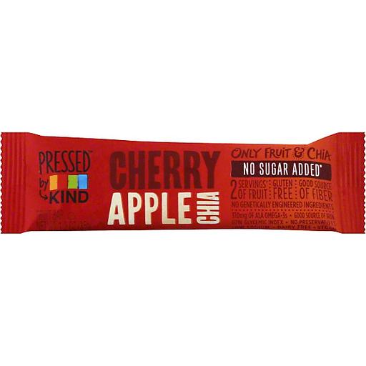Kind Pressed Fruit Bar, Cherry Apple Chia