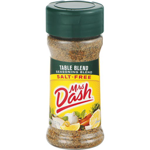 Mrs Dash Seasoning Blend, Salt-Free, Table Blend