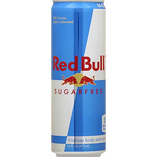 Red Bull® Sugarfree Energy Drink 16 fl. oz. Can