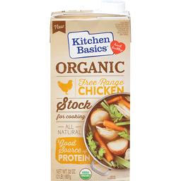 kitchen basics organic stock free range chicken - Kitchen Basics