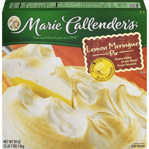 Marie Callenders Pie, Lemon Meringue