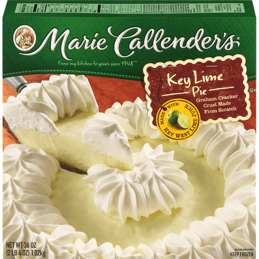 Marie Callenders Pie, Key Lime
