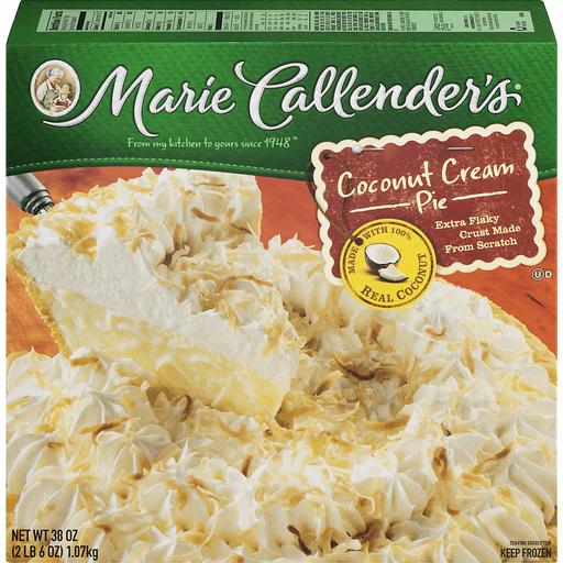 Marie Callenders Pie, Coconut Cream