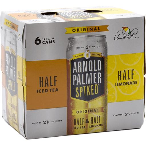 Arnold Palmer Spiked Half Half Can