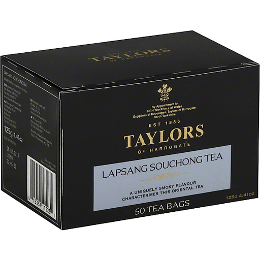50 Teabags Taylors of Harrogate Lapsang Souchong