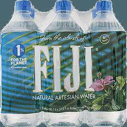 Fiji Natural Artesian Water 33 8 Fl Oz Pack Of 6
