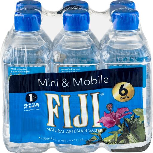 Fiji Water Natural Artesian 6 Pack 11 5 Oz