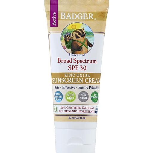 Badger Spf 30+ Sunscreen