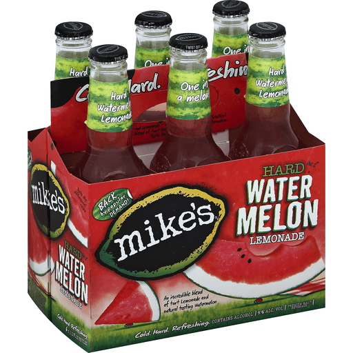 Mikes Malt Beverage, Premium, Hard Watermelon Lemonade
