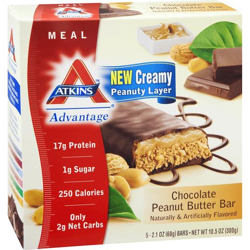 Atkins Meal Bar, Chocolate Peanut Butter