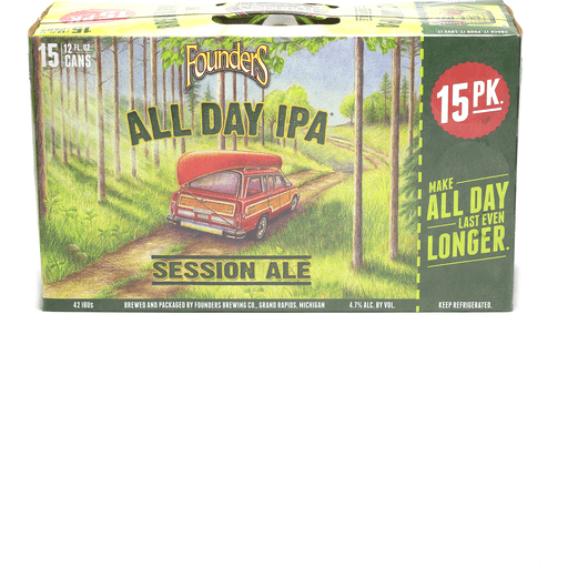Founders All Day IPA Session Ale - 15 PK