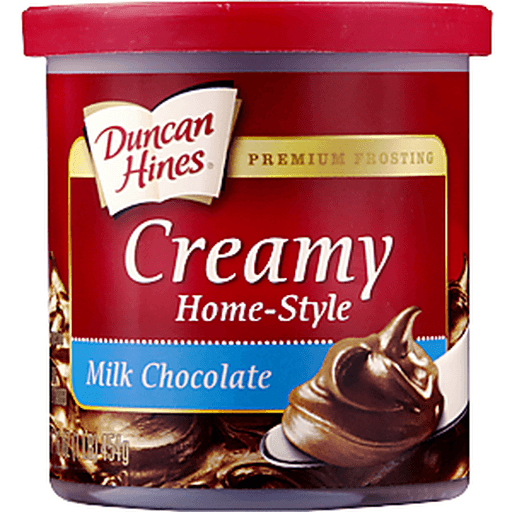 Duncan Hines Creamy Home-Style Frosting, Milk Chocolate