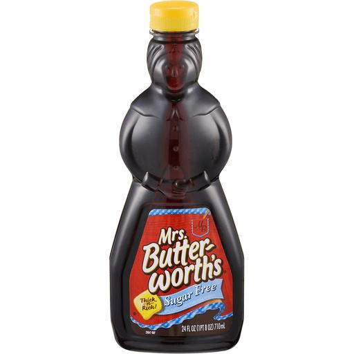 Mrs Butterworths Syrup, Sugar Free