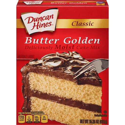 Duncan Hines Classic Cake Mix, Butter Golden
